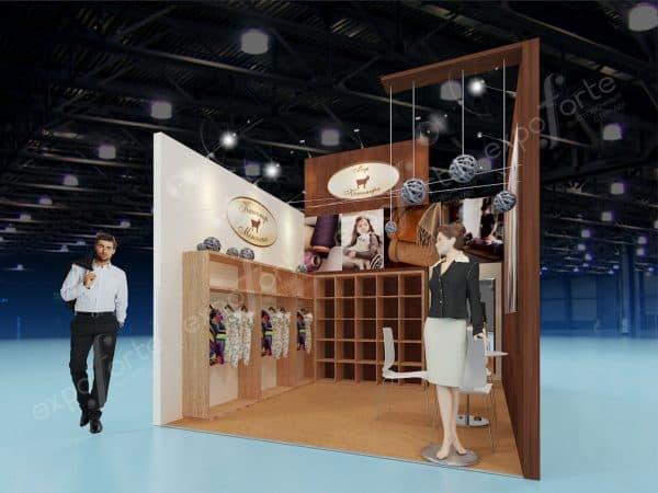 Фото: производство выставочных стендов