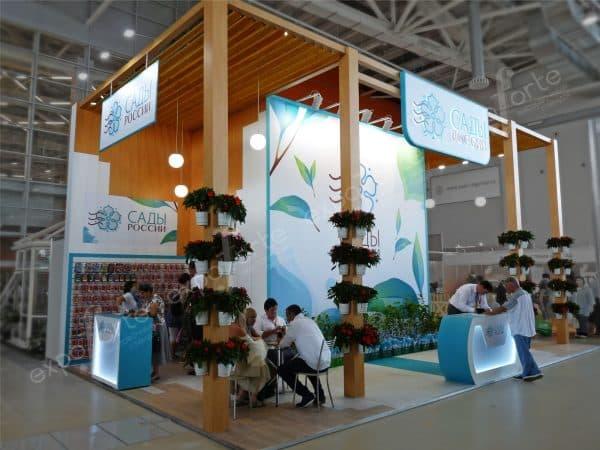 Выставка Сады России