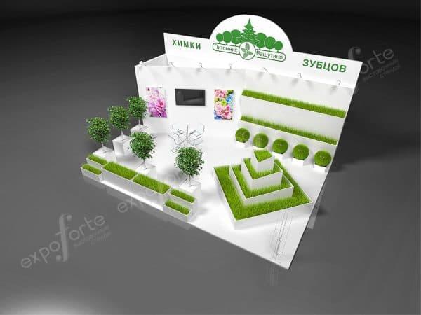 Пример 3D дизайн-проекта